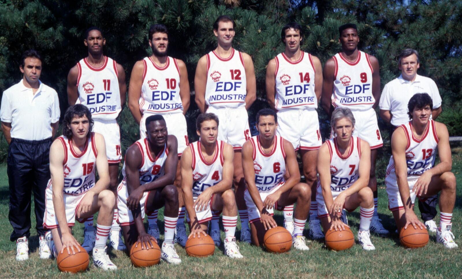 Saison 1989/90 - N1A (Pro A) Equipe90